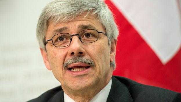Carlo Conti, Basler Regierungsrat und Präsident der kantonalen Gesundheitsdirektoren.