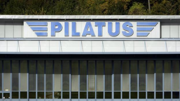 Der Hauptsitz von Pilatus in Stans.