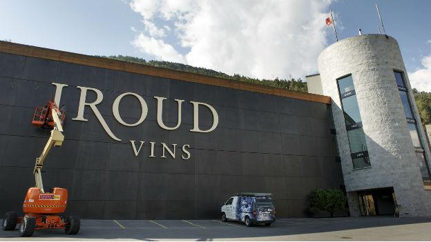 Weiterhin im Fokus: Weinhändler Giroud und sein Firmensitz.