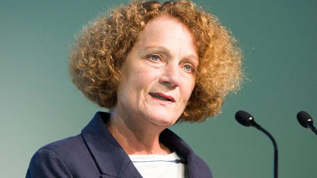 Therese Frösch, alt Nationalrätin und Co-Präsidentin der Schweizerischen Konferenz für Sozialhilfe (SKOS).