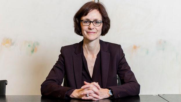 Die neue Direktorin des Dachverbandes Economiesuisse Monika Rühl am 21. Februar 2014.