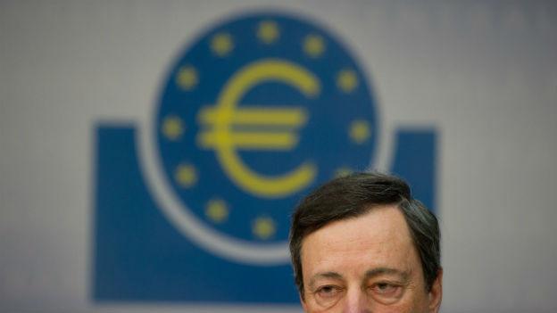 Mario Draghi senkt den EZB Leitzins auf 0.05 Prozent.