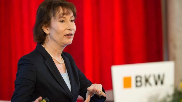 Suzanne Thoma. CEO der Bernischen Kraftwerke.