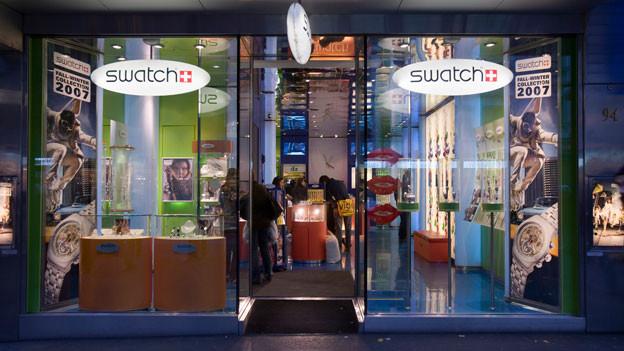 Diese sogenannten Monobrand-Stores boomen derzeit. Im Bild: der Swatch-Store an der Bahnhofstrasse in Zürich.