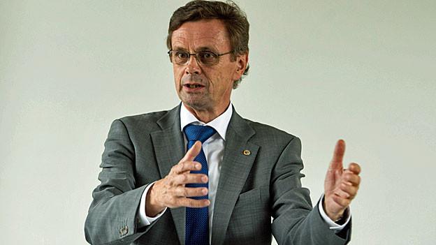 Hans-Jürg Käser, Berner Regierungsrat und Präsident der kantonalen Justiz- und Polizeidirektoren.