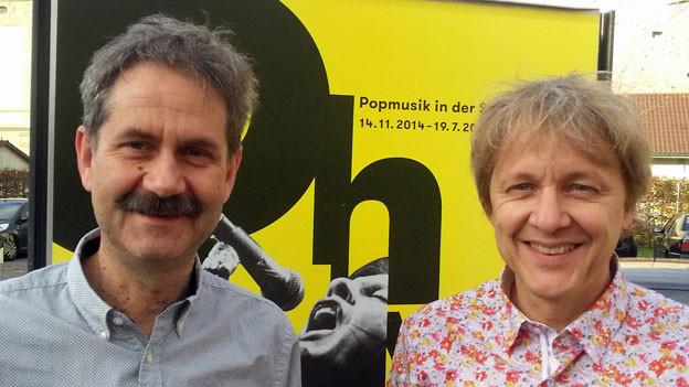 Kurt Stadelmann (links) und Samuel Mumenthaler.