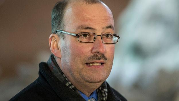 Markus Ritter, Präsident Schweiz. Bauernverband, anlässlich einer Medienkonferenz am 3.1.2014.