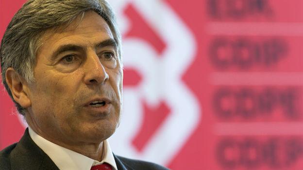 Der Basler Regierungsrat Christoph Eymann, Präsident der Schweizerischen Konferenz der kantonalen Erziehungsdirektoren (EDK).