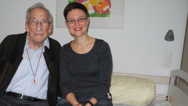 Paul Zürcher und Adrienne Hochuli