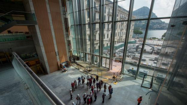 Das LAC in Lugano