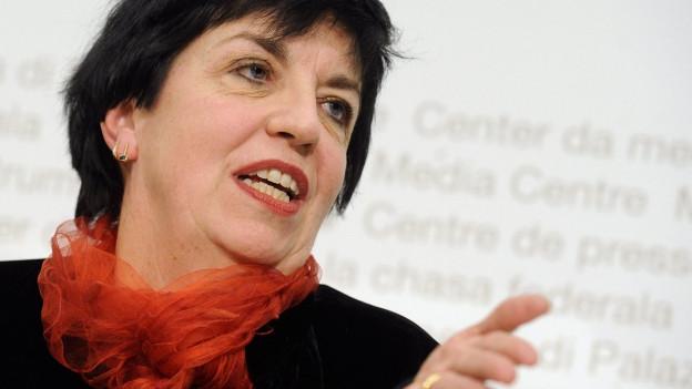 Vertreterin der Bundesangestellten: Maria Bernasconi.