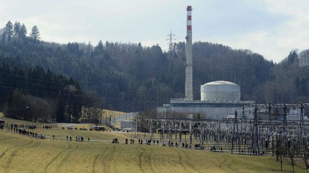 Das Kraftwerk Mühleberg soll in vier Jahren vom Netz gehen.