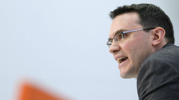 Der Lausanner Politologe Georg Lutz bei einer Medienkonferenz im Jahre 2010 in Bern.