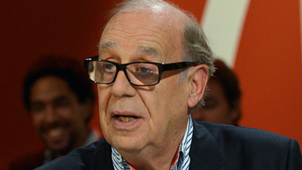 Jean Ziegler, Genfer Soziologe, UNO-Sonderberichterstatter und Globalisierungskritiker am 25. November 2014.