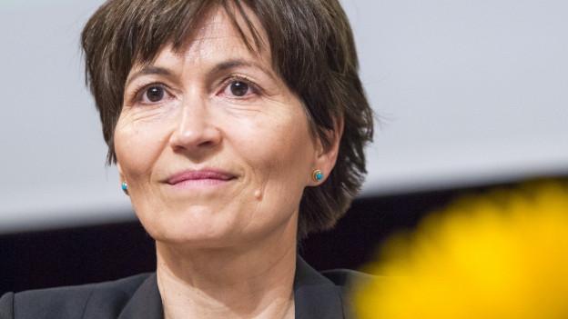 Regula Rytz, Co-Präsidentin der Gründen Partei Schweiz.