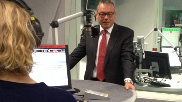 FDP Nationalrat Ruedi Noser