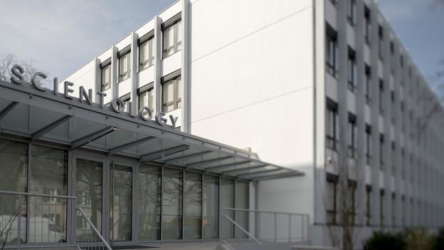 Das neue Scientology-Zentrum an der Burgfelderstrasse in Basel.