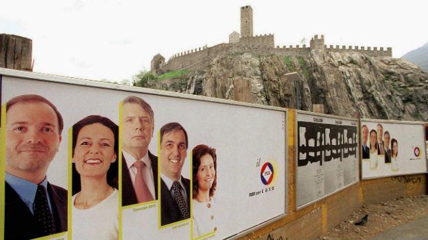 Die Kantonswahlen im Tessin