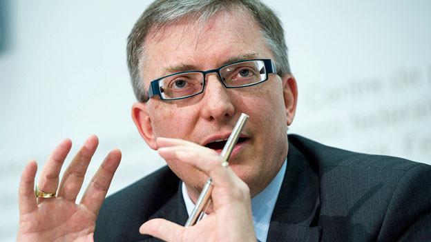 Markus Seiler, Direktor Nachrichtendienst des Bundes NDB