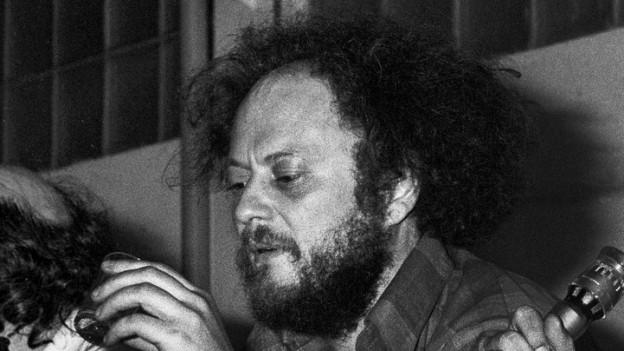 Der Journalist Niklaus Meienberg 1976 in Zürich