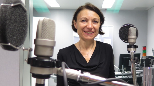SP-Nationalrätin Yvonne Feri im Studio.