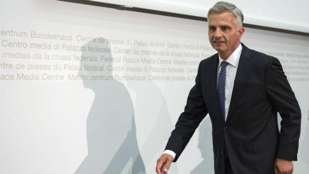 Bundesrat Burkhalter will, dass ein Chefunterhändler Schwung in die Verhandlungen mit der EU bringt.