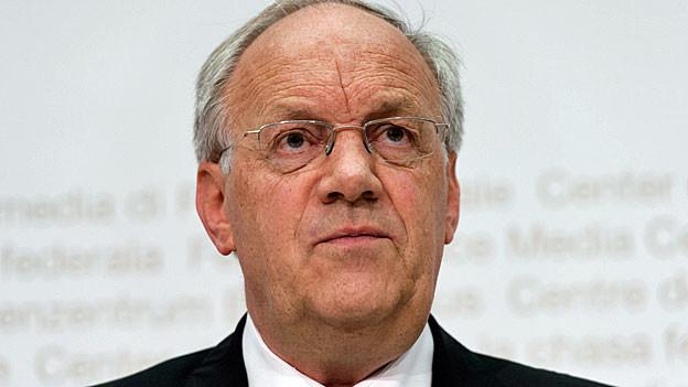 Portrait von Bundesrat Johann Schneider-Ammann.