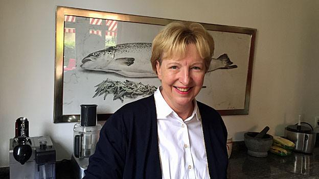 Annemarie Wildeisen in ihrer Küche.