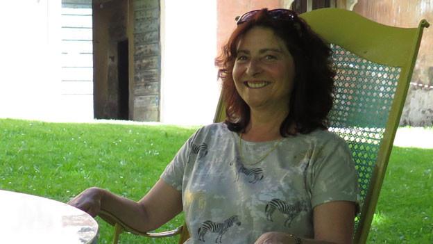 Anna Giacometti, Bergeller Gemeindepräsidentin.