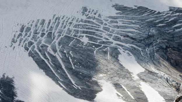 Ein Gletscher im Titlisgebiet bei Engelberg.