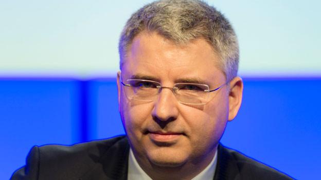 Roche-CEO Severin Schwan im März 2015.