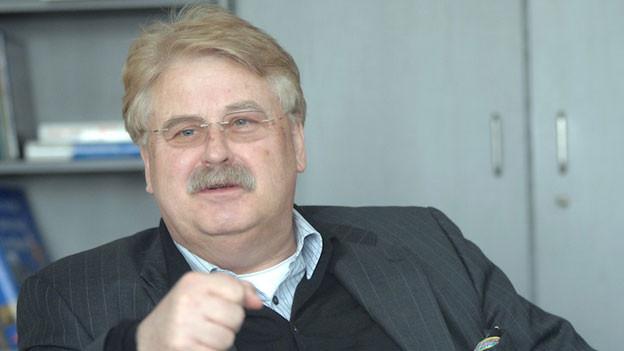 Portrait Elmar Brok, EU-Aussenpolitiker