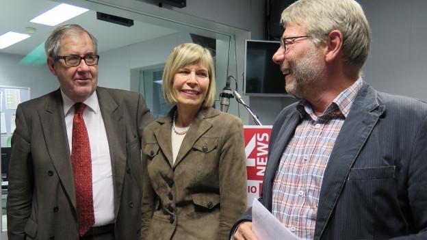 Hans Kaufmann, Erika Foster, Daniele Piazza (v.l.n.r.)