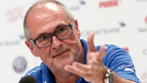 Peter Gilliéron, Fussballverbandspräsident.