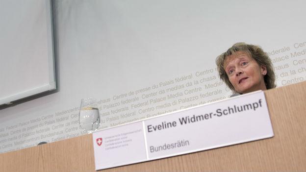 Eine Bundesrätin geht: Eveline Widmer Schlumpf