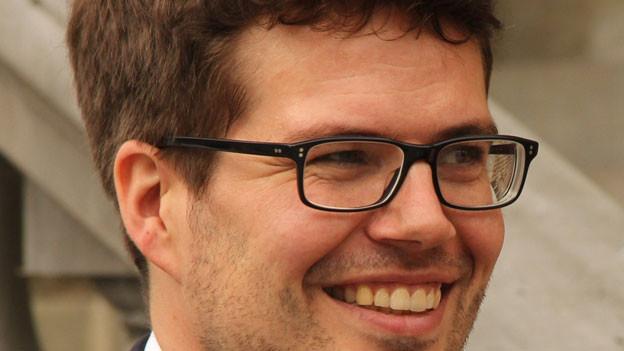 Henrik Meyer vom Büro Tunesien der Friedrich-Ebert-Stiftung.