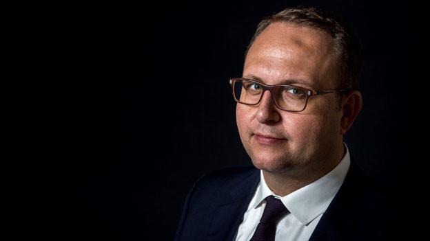 Norman Gobbi, Lega dei Ticinesi, Vorsitzender des Staatsrates des Kantons Tessin. Der Tessiner Regierungspräsident tritt als Kandidat für den zweiten Bundesratssitz der SVP an.