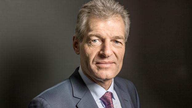 Heinz Karrer, Präsident des Wirtschaftdachverbandes Schweiz, Economiesuisse im Februar 2014.