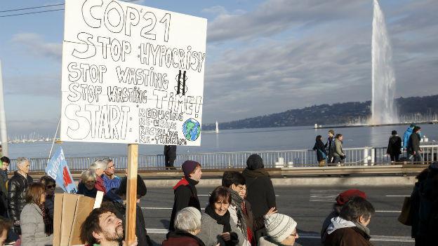 Die Klimakonferenz und ihrer Genfer Ableger