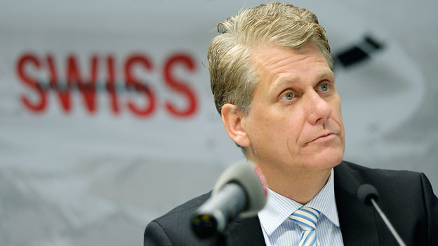 Harry Hohmeister, CEO Swiss.