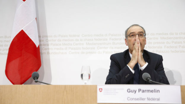 Guy Parmelin als neuer Bundesrat