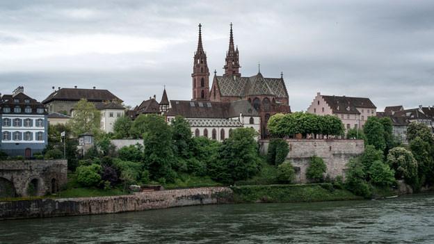 Sicht auf Basel mit Münster.