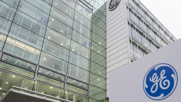 Der Schweizer Sitz der Alstom/General Electric GE in Baden.