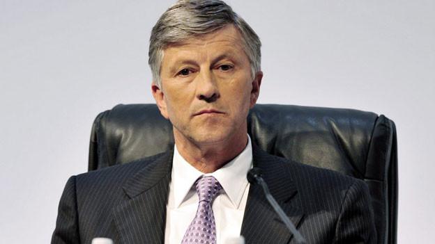 Rolf Dörig, designierter Verwaltungsrat der Swiss Life Holding an der Generalversammlung von Swiss Life im Mai 2009.