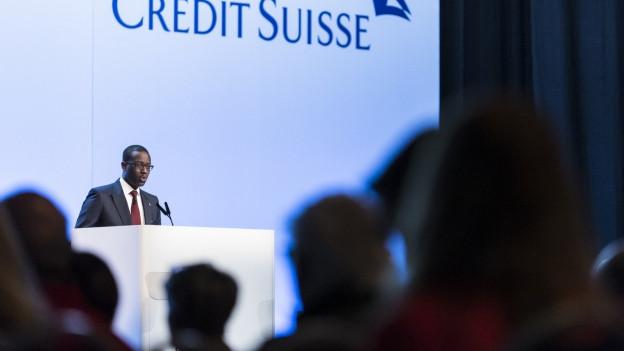 Credit Suisse CEO Tidjane Thiam.