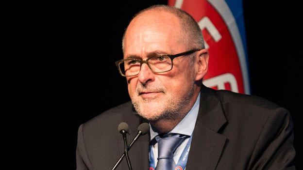 ZFV-Zentralpräsident Peter Gilliéron.