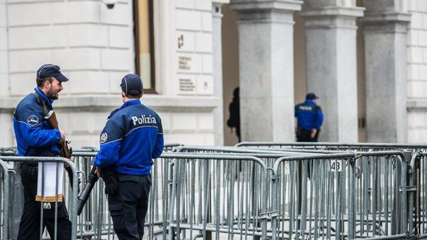 Zu sehen ist das Bundesstrafgericht in Bellinzona.