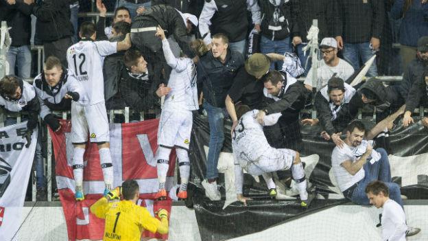 Der FC Lugano klettert in den Cupfinal