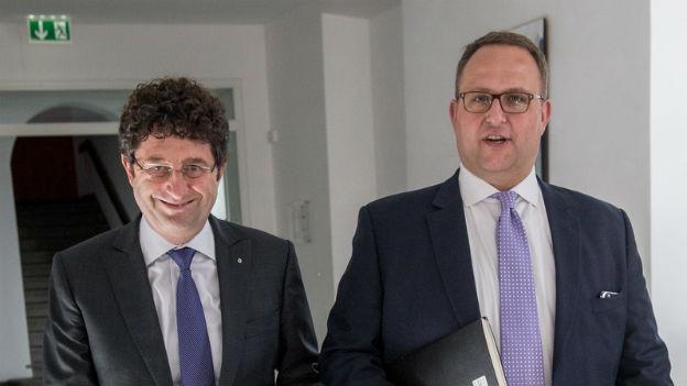 Paolo Beltraminelli und Norman Gobbi
