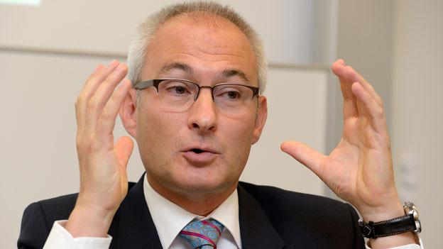 Bernhard Pulver, Berner Regierungsrat.